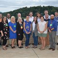 The newly elected Holston Conference delegation poses for a photograph shortly after the conclusion of Annual Conference 2019 in Lake Junaluska, N.C.